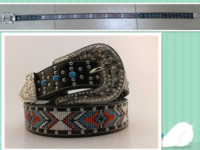 ceinture indienne country
