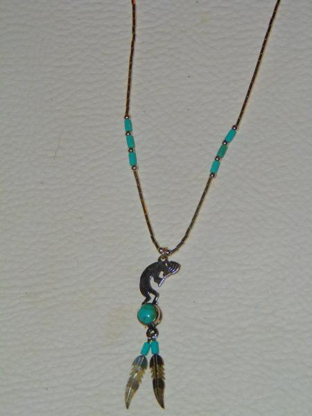 Collier kokopelli