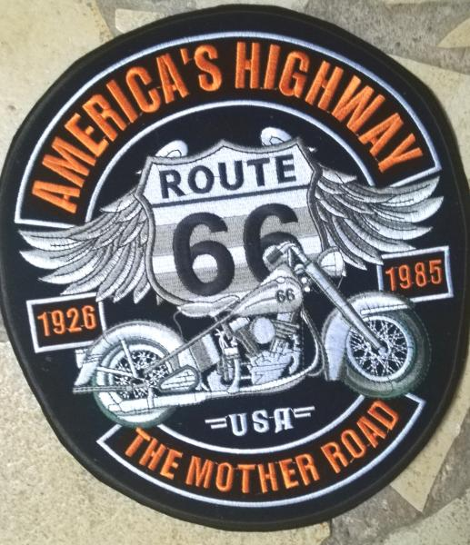 Patch brodé route 66