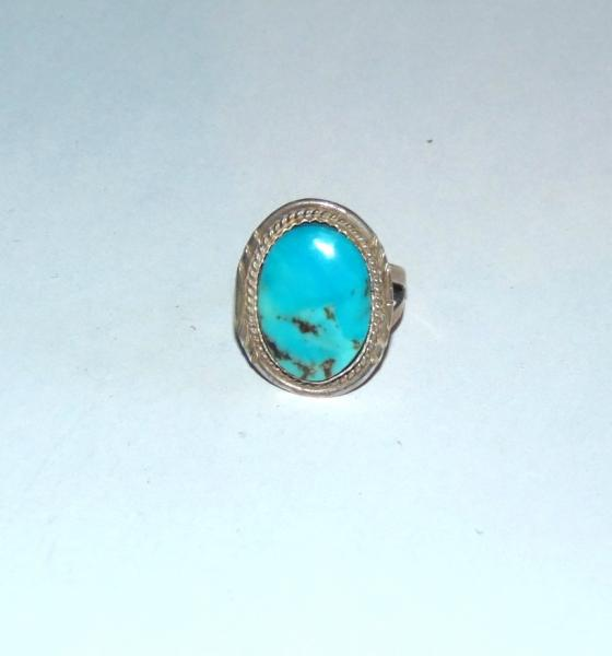 Bague turquoise navajo