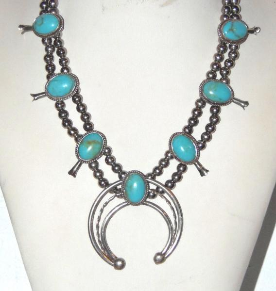 Collier,choker turquoise